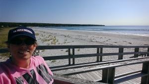 Board walk at Summerville Beach