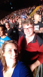 Me and Dave at Billy Idol